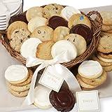 Round Wicker Cookie Basket