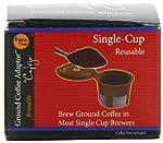 Cafejo Single Serve Reusable Filter for Keurig K-cups Brewers by AquaBrew, Inc. DBA Caféjo