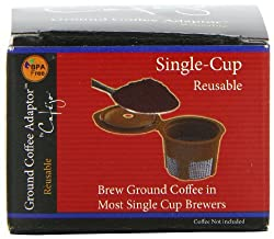 Cafejo Single Serve Reusable Filter for Keurig K-cups Brewers by AquaBrew, Inc. DBA Caféjo