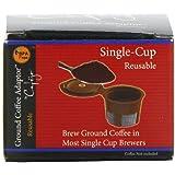 Cafejo Single Serve Reusable Filter for Keurig K-cups Brewers