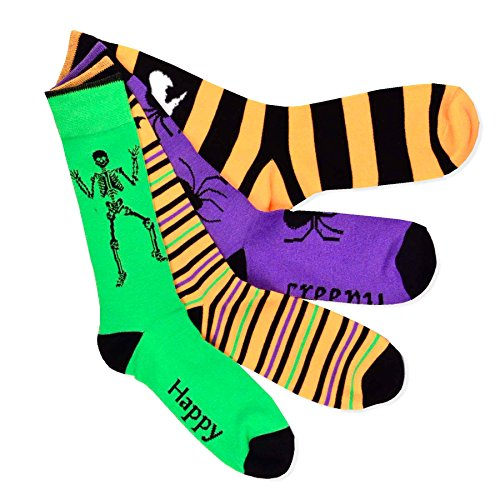 Men's 4-Pair Halloween Socks