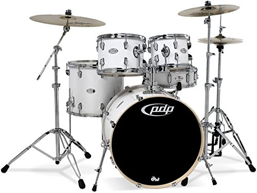 pdp-mainstage-5-piece-drum-set-with-hardware-and-zildjian-cymbals-gloss-white