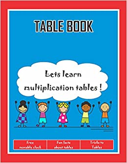 Worksheets Maths Table 1to20 buy maths tables book for beginners learning 1 to 20 fun with first edition online at low prices in indi