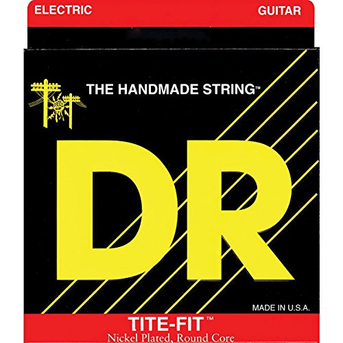 Dr Strings Tite Fit Electric Round Core 10-50