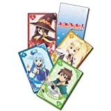 KonoSuba: Kazuma, Aqua, Megumin and Darkness Group Playing Cards