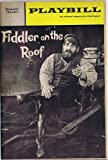 img - for Fiddler on the Roof 1967 Majestic Theater Playbill Featuring Bette Midler As Tzeitel (4) book / textbook / text book