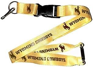 Wyoming Cowboys NCAA Team Logo Lanyard Yellow by aminco