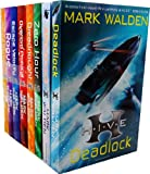 Mark Walden Mark Walden Higher Institute of Villainous Education 8 Books Collection Set RRP: £55.92 (H.I.V.E., The Overlord Protocol, Escape Velocity, Dreadnought, Rogue, Zero Hour, Aftershock, Deadlock)