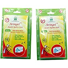 Aringel Mosquito Repellent Patch Second Generation (Pack Of 20 Pcs)- Set Of 2