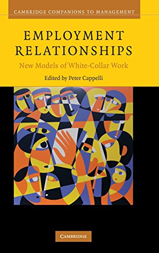 Employment Relationships: New Models of White-Collar Work (Cambridge Companions to Management)