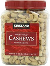 Kirkland Signature Whole Cashews, 40-Ounce 2.5 Pound