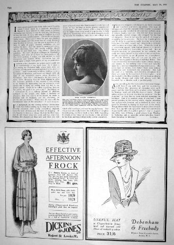 old-original-antique-victorian-print-1918-aimee-kemball-opera-soprano-advertisement-dickins-jones-de