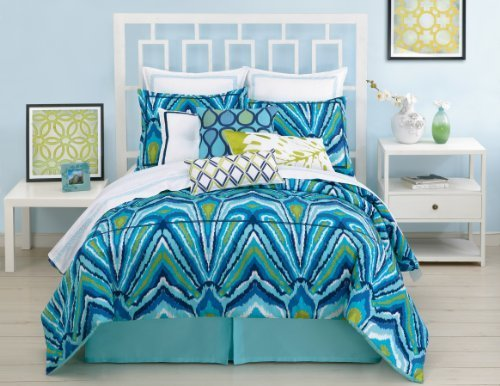 trina-turk-3-piece-peacock-comforter-set-queen-blue-by-trina-turk