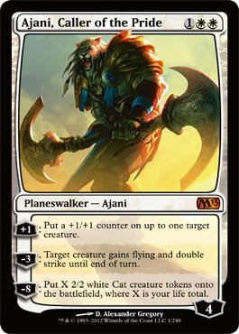 Magic: the Gathering - Ajani, Caller of the Pride (1) - Magic 2013