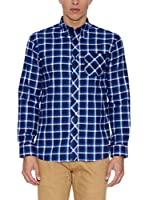 THE INDIAN FACE Camisa Hombre (Azul Medio)