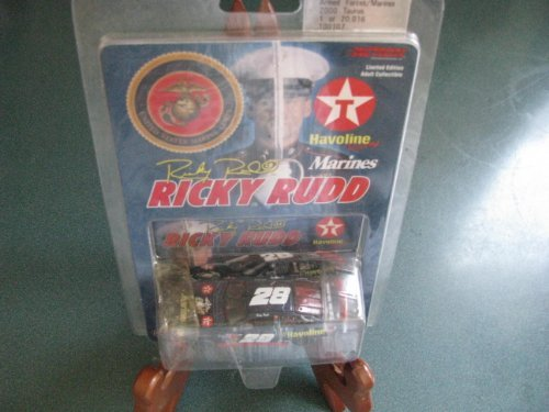 2000 Ricky Rudd #28 Havoline Ford Taurus U.S. Marines 1/64 Scale Diecast Action Racing Collectables ARC Limited Edition - 1