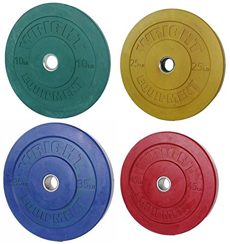 260-lb-package-colored-bumper-plates-for-power-lifting-and-weight-lifting