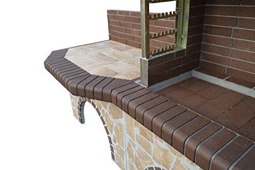 grillkamin smart duo limestone marrone. Black Bedroom Furniture Sets. Home Design Ideas