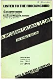 img - for LISTEN TO THE MOCKINGBIRD (for Four-Part Chorus of Women's Voices [SSAA]) with Piano accompaniment book / textbook / text book