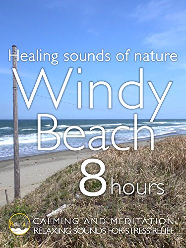Healing Sound of Nature Windy Beach 8 hours Calming and Meditation Relaxing Sound for Stress Relief