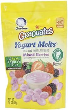 7-Pk. Gerber Graduates Yogurt Melts 1 Oz.