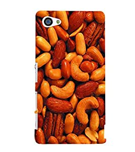 TOUCHNER (TN) Dry Fruits Back Case Cover for Sony Xperia Z5 Compact::Sony Xperia Z5 Mini