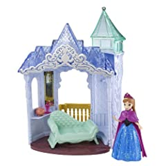 Disney Frozen Small Doll Anna Castle Playset
