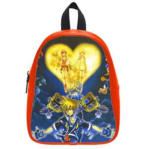 Duality Puzzle Kingdom Hearts Custom Zaino For School,Travel,Party (S)