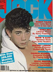 Jock Gay Adult Magazine September 1986 (Money Talks, Quiet Sex ...