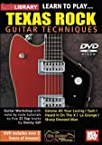 Learn To Play Texas Rock Guitar Techniques DVD