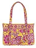 Vera Bradley Betsy Bag Bali Gold Handbag Purse