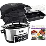 Ninja 4-in-1 6 qt. Multi-cooker w/Recipe Book & Tr