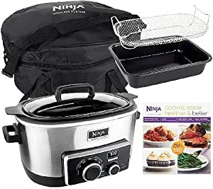 Ninja 4-in-1 6 qt. Multi-cooker w/Recipe Book