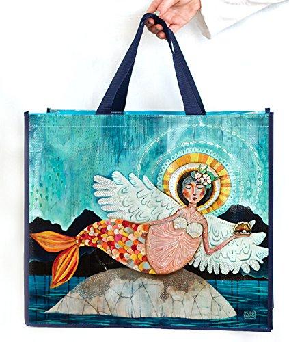 Allen Designs Merm-Angel Artistic Shopper Bag