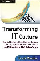 Transforming IT Culture ebook download