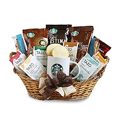 California Delicious Starbucks Daybreak Gourmet Coffee Gift Basket by California Delicious