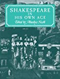Shakespeare in His Own Age (0521291291) by Nicoll, Allardyce