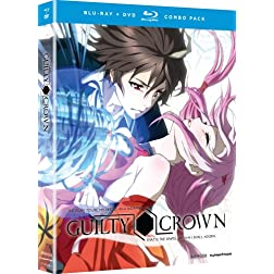 Guilty Crown: Complete Series, Part 1 (Blu-ray/DVD Combo)