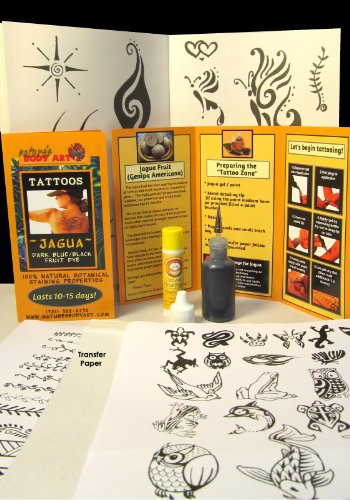 20ml Jagua Tattoo Kit with Reusable Applicator Bottle