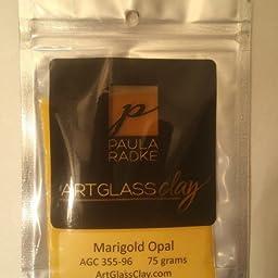 Marigold Opal ArtGlass Clay 75g 96COE