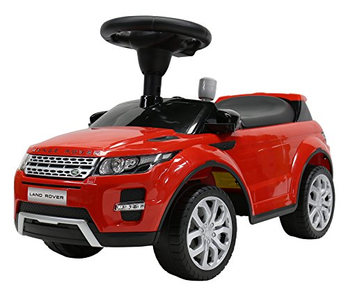 Liscensed Land/Range Rover Push Ride on Car for Kids Baby Racer Red (Range Rover Baby compare prices)
