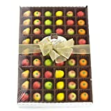 Gourmet Marzipan 54-Piece Assorted Fruit Box