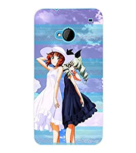 ColourCraft Girly Back Case Cover for HTC ONE M7