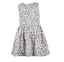 CoffeeBean Kids Girls Floral Print Dress(3-4 Years)