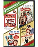 4 Film Favorites: Classic Holiday Collection, Vol. 2 (All Mine To Give / It Happened on 5th Avenue / Holiday Affair / Blossoms in the Dust)