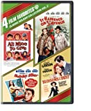 4 Film Favorites: Classic Holiday Collection Vol. two (All Mine to Give / It Occurred on 5th Avenue / Holiday Affair / Blossoms in the Dust)