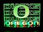 Ncaa Oregon Ducks Football LED Desk Lamp Night Light Beer Bar Bedroom Signs (3x12x6.5 inches)