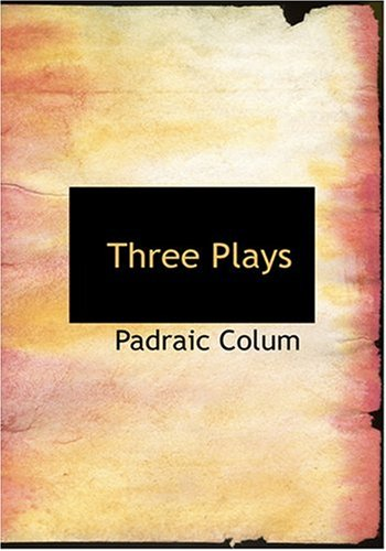 Three Plays (Large Print Edition)