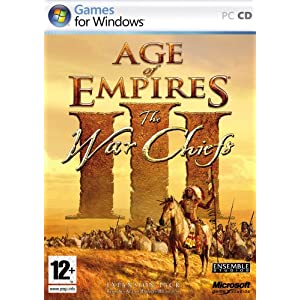 Age Of Empires 3 - The Warchiefs for Mac (1 cd)