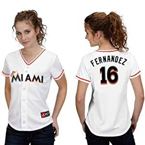Buy Jose Fernandez Miami Marlins Home Ladies Replica Jersey by Majestic by Majestic
